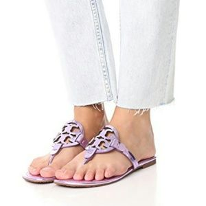 New Tory Burch Miller Sandals  size 5
